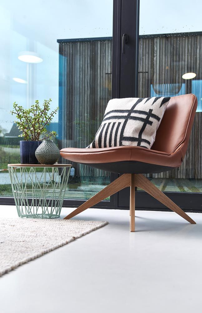 Rigg Chair Bolia, Wire Basket And Kelim Cushion Ferm Living, Vases  Bloomingville
