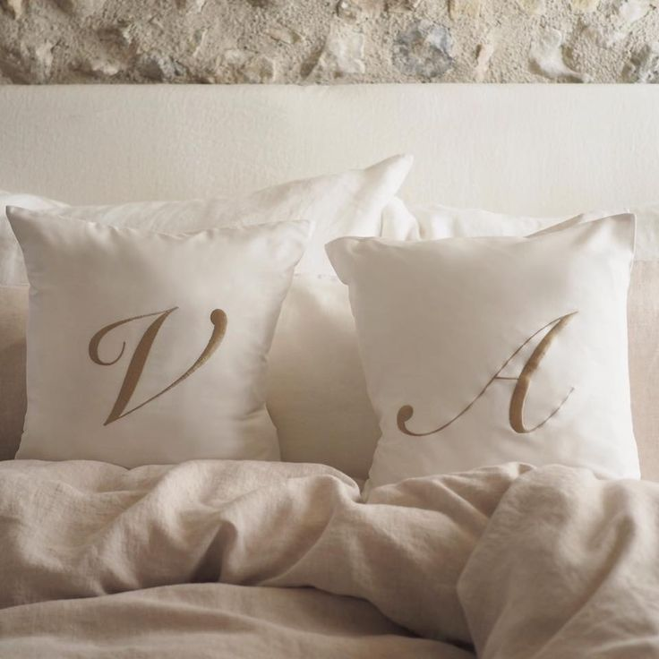 Balmuir monogram cushion covers available at www.balmuir.com