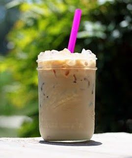 Iced coffee...my weakness