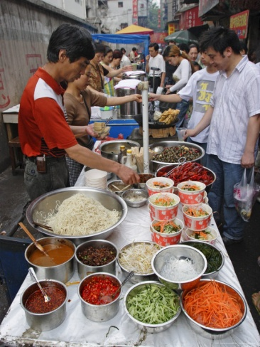 Food Market in Wuhan, Hubei Province, China. Photo: Andrew Mcconnell