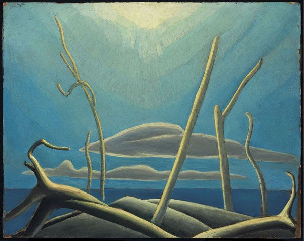 Lawren S. Harris, Lake Superior Sketch XXXIX, c. 1923