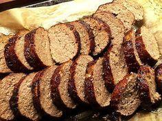 Stadig köttfärslimpa – lätt att skära i fina skivor! –