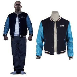 In today's fashion world, the varsity jackets or better known as Letterman jackets, are considered to be the ideal outfits for teenagers. It has become so popular that Suicide Squad film will be making it into a costume for El Diablo. Jay Hernandez wore the El Diablo Jacket in the superhero film playing Chato Santana aka El Diablo.