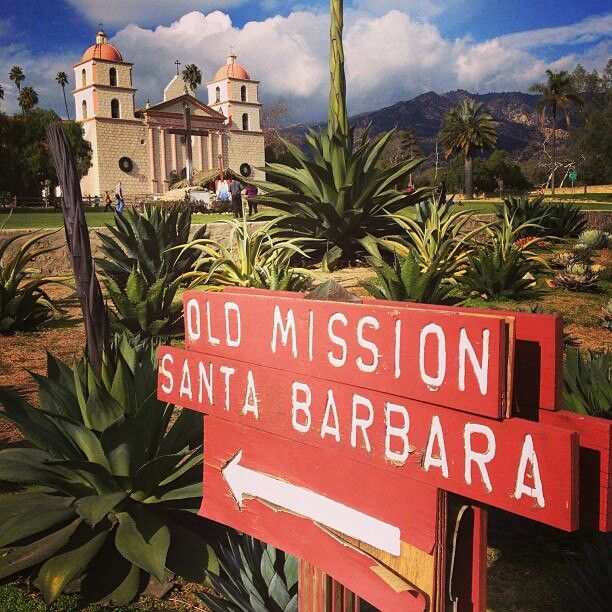 Old Mission Santa Barbara ~ Santa Barbara, California