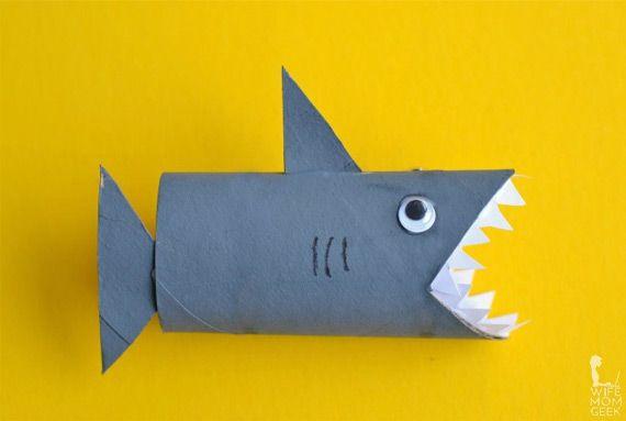 Tiburón de rollo de papel higiénico                                                                                                                                                                                 Más