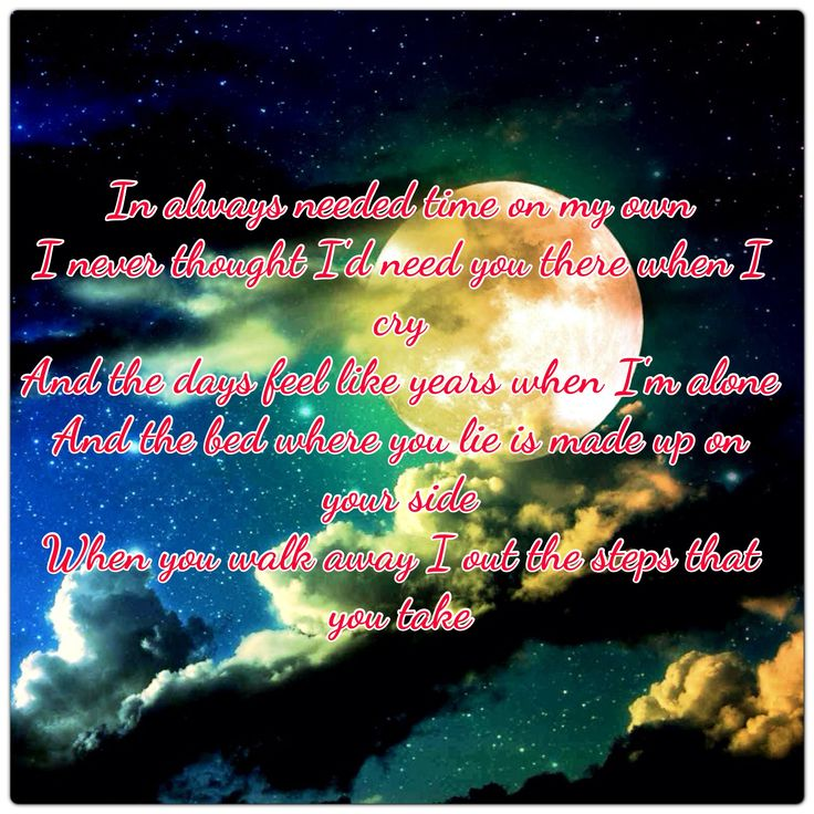 39 best Favorite song quotes and lyrics images on Pinterest ...