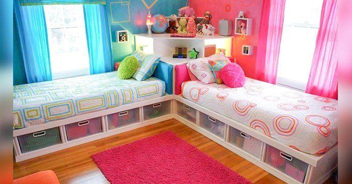 Tener varios dormitorios resulta difícil para muchospadres, y el problema más complejo de resolver es cuando se tiene a un niño y a una niña que deben compartir una habitación. No sólo tienen diferentes necesidades, sino que también tienen diferentes gustos e intereses.  Es difícil crear unambie