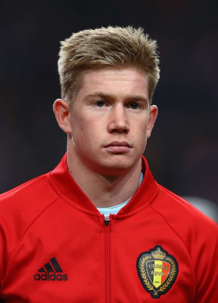 Kevin De Bruyne of Belgium looks on prior to the international friendly match between Netherlands and Belgium at Amsterdam Arena on November 9, 2016 in Amsterdam, Netherlands.