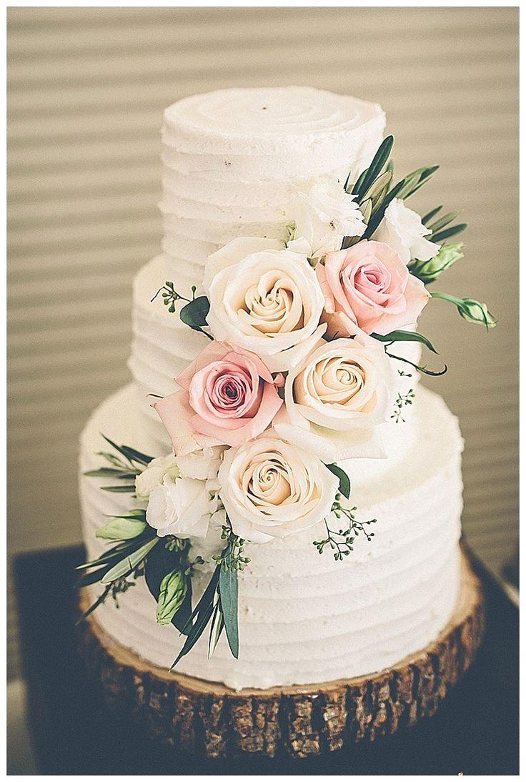 Erstaunliche rustikale Hochzeitstorten   – Deko