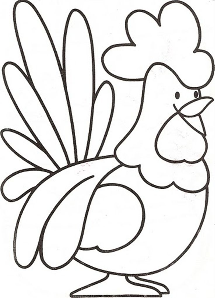 Download and Print preschool farm animal coloring pages a