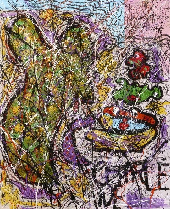 Dialogue Avec Ma Fille Jean Jacques Marie Artiste Peintre Contemporain Francais Peintre Contemporain Dessin D Enfant Artiste Peintre