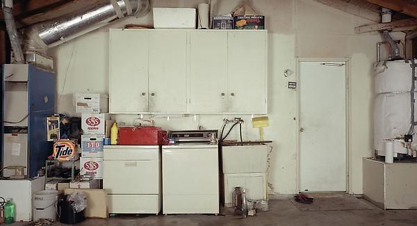 Garage Pictures, 1992. From the home of mr. Paul Nakama- left wall