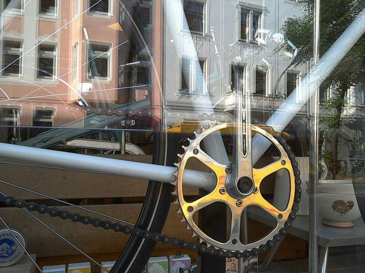 Klaus Lauer racing bike  Profi Bahnrad 70er Jahre 7,9 kg