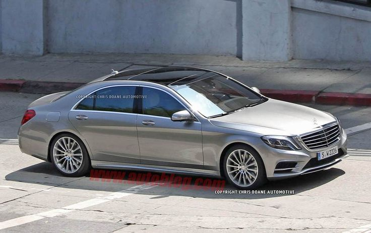 2014 mercedes s550 | 2014 Mercedes S-Class Caught Uncamouflaged, Interiors Unveiled ...