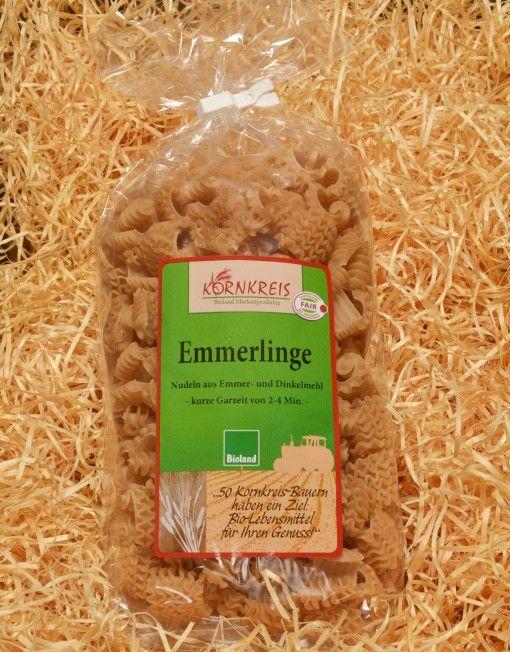 Alte Getreidesorten wiederentdeckt: mit den Emmerlinge Nudeln aus Emmer Getreide von Kornkreis