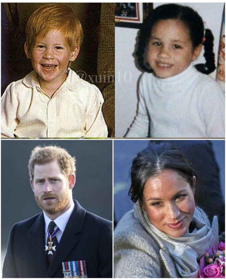 HARRY AND MEGHAN --- AROUND THE SAME AGE.........ccp