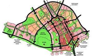Johor Bahru Central District Redevelopment Master Plan, Malaysia
