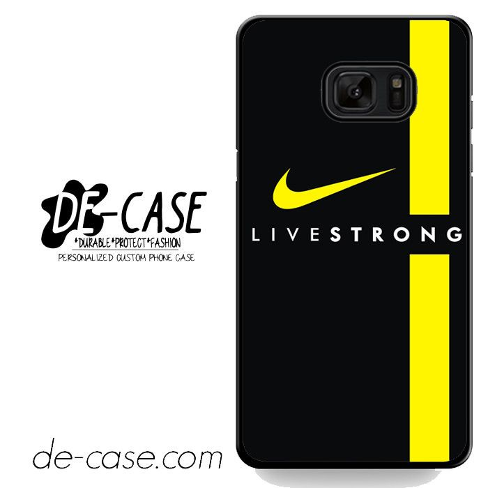 Livestrong Nike Logo Sport Bike DEAL-6603 Samsung Phonecase Cover For Samsung Galaxy Note 7