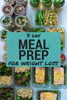 7 Day Meal Plan For Weight Loss