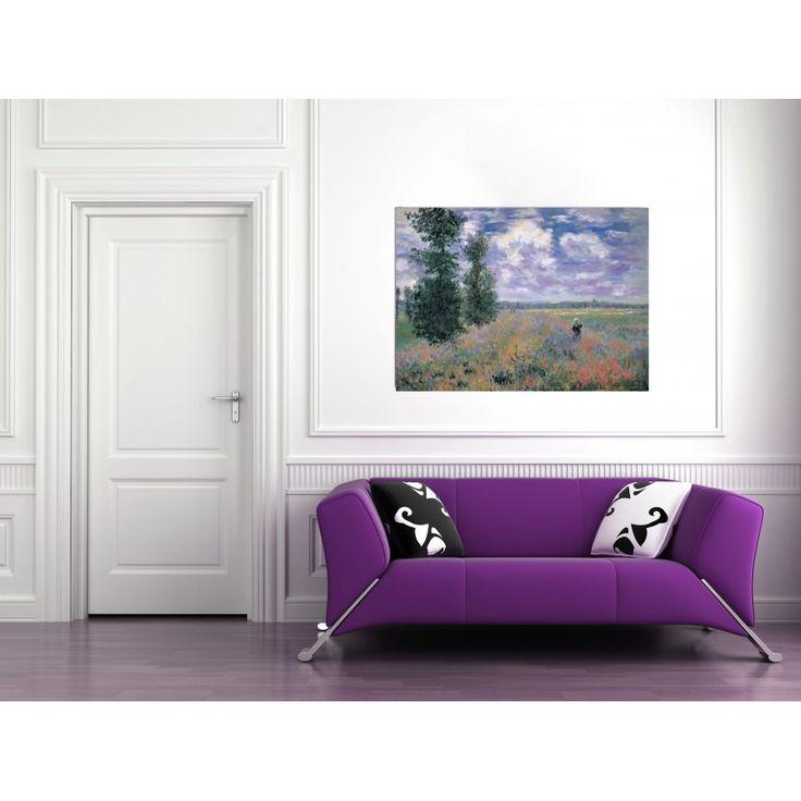 MONET - LES COQUELICOTS ENVIRONS D'ARGENTEUIL #artprints #interior #design #art #prints #Monet  Scopri Descrizione e Prezzo http://www.artopweb.com/autori/claude-monet/EC16944