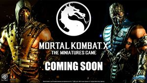 Mortal Kombat Board Game Miniature is coming soon