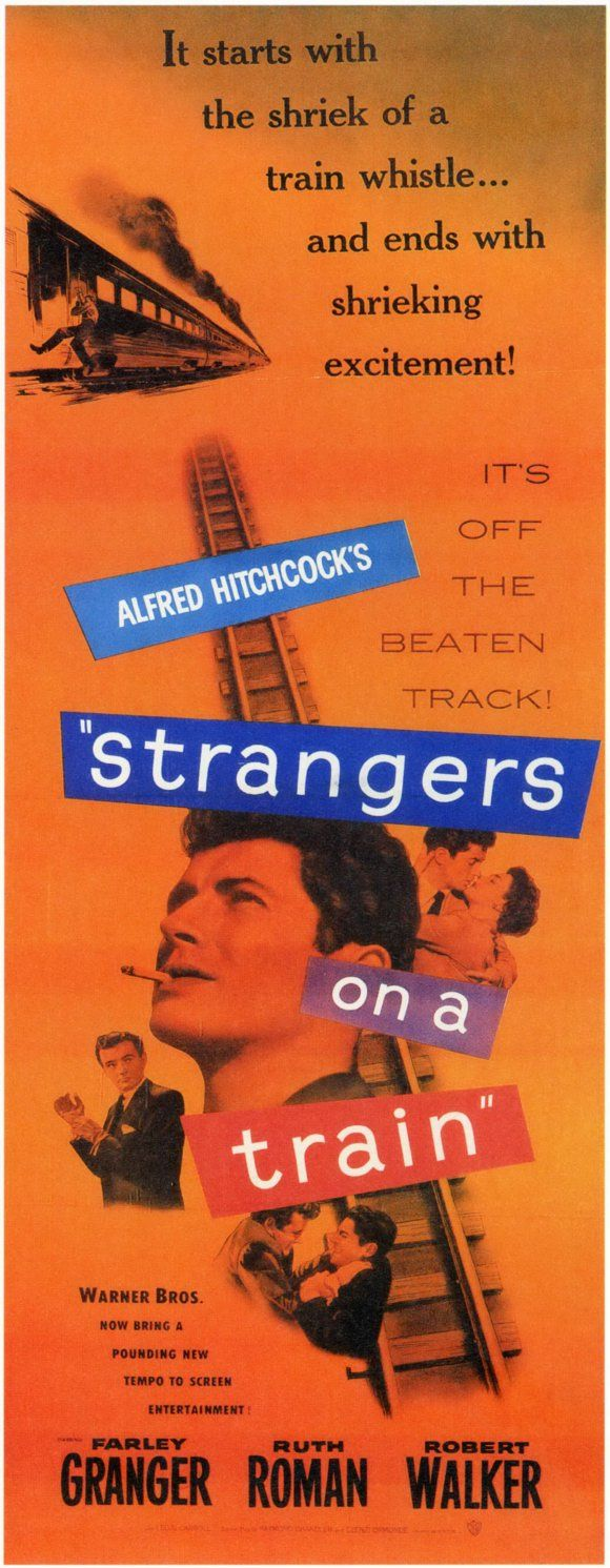the classic cinema in the movie strangers on a train The classics that every film-lover will want to own this week: marc lee on  strangers on a train.
