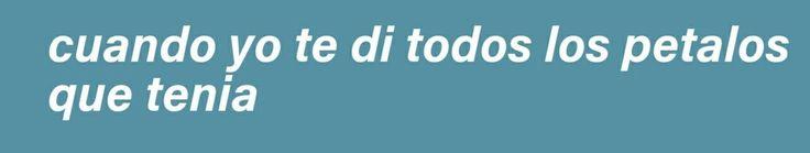 Aún te quiero...