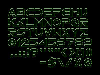 Tron legacy font free download