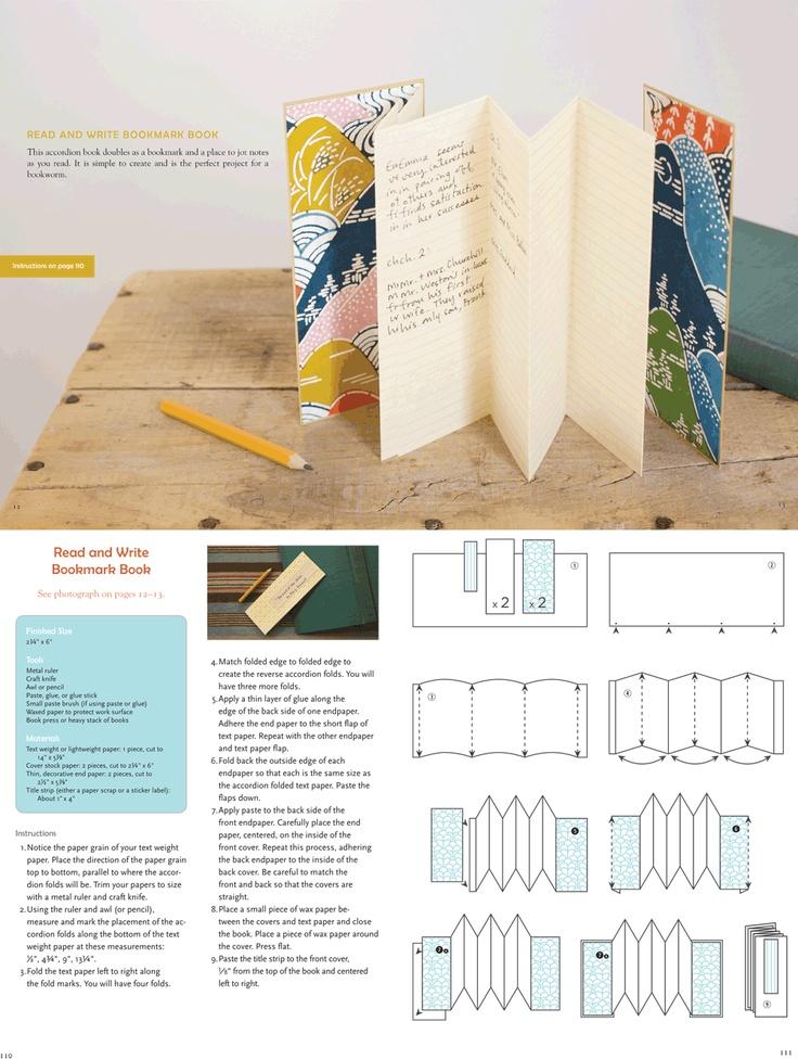 bookmark book tutorial