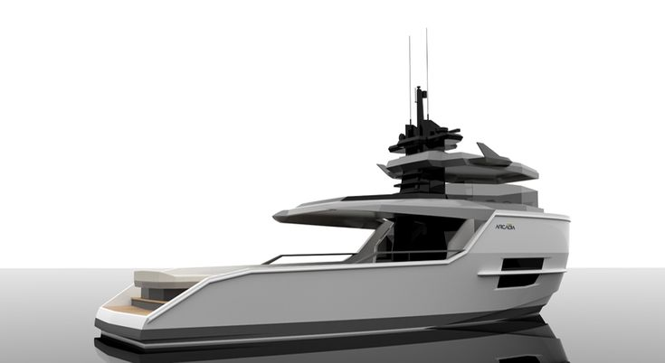 Busy days for Arcadia Yachts