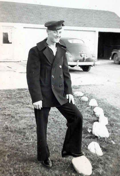 Naval Peacoat 1940s