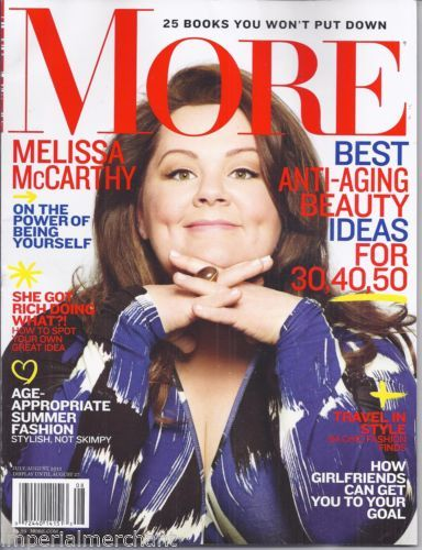 Melissa McCarthy in More magazine