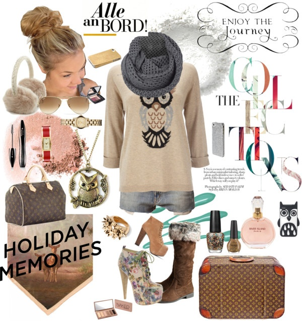 """Holiday Memories with OWL"" by nindyahkinasih on Polyvore"