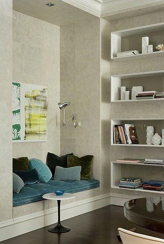 perfect reading nook  noraquinonez.etsy.com  #pillows #decorative pillows #throw pillows