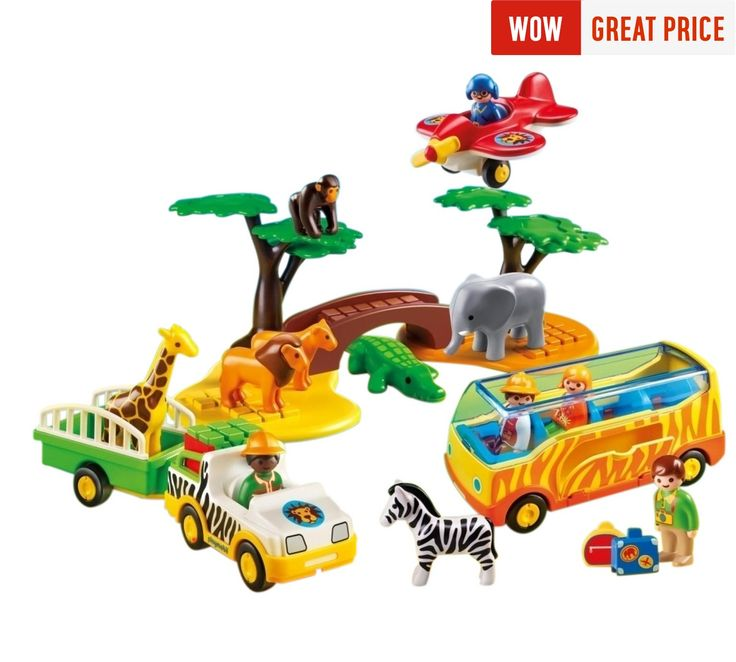 Buy Playmobil 5047 123 Safari Set at Argos.co.uk, visit Argos.co.uk to shop online for null
