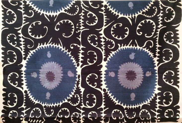 Outdoor fabrics from Madeline Weinrib ; Gardenista