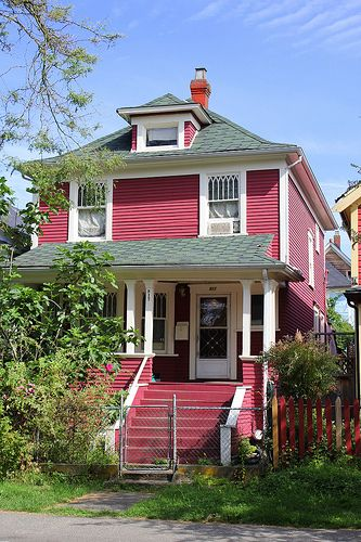 House on East Georgia Street Strathcona Vancouver BC