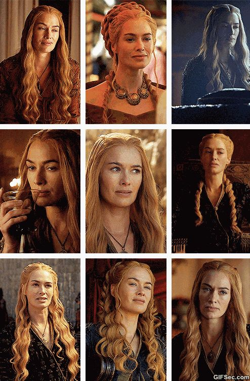 Cersei Lannister - Game of Thrones GIF - www.gifsec.com