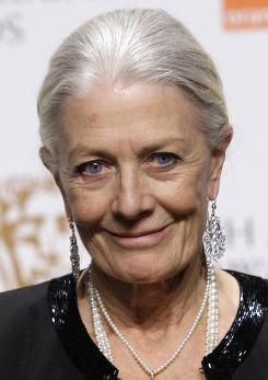 British actress Vanessa Redgrave | photo by Joel Ryan, AP