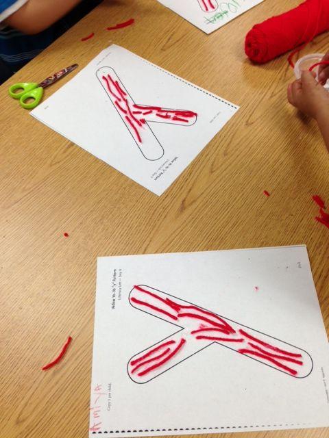 Kindergarten and Mooneyisms: Letter Y Activities