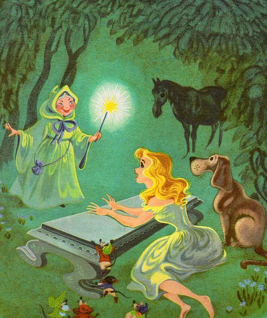 Walt Disney's Cinderella - vintage book collection, via Flickr
