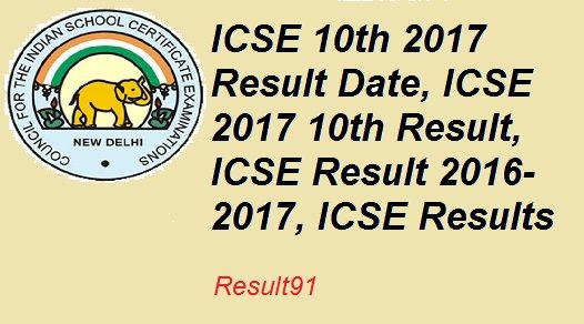 ICSE Result 2016/2017, ICSE Results, ICSE 10th Results, ICSE Board Exam Time table 2017 : Update:- The ICSE 10th Class Results 2017 likely to be released on May 15th 2017.   #2017 10th ICSE Result #ICSE 10th Result 2017 #ICSE Result