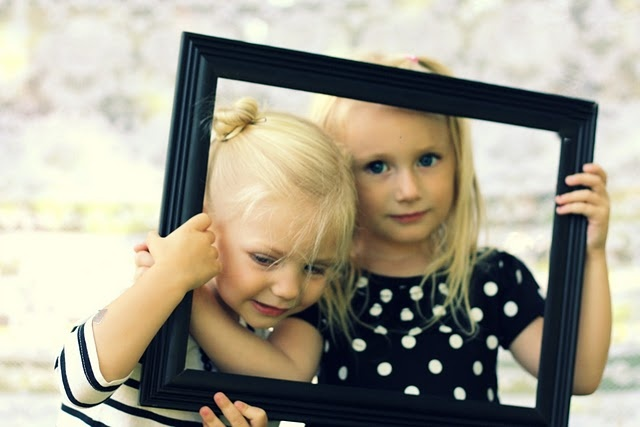 photography, picture frame, children,