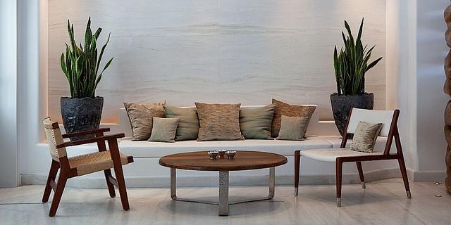 Lobby at Belvedere Hotel, Mykonos
