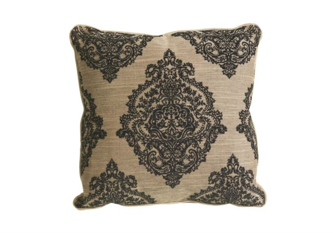 """Single 20"""" patterned scatter cushion - Hennessey - Living Room Furniture 