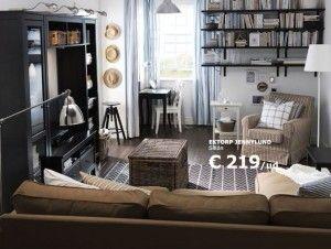 Good Mueble Negro Y Blanco Ikea · Ikea Living RoomSmall ...