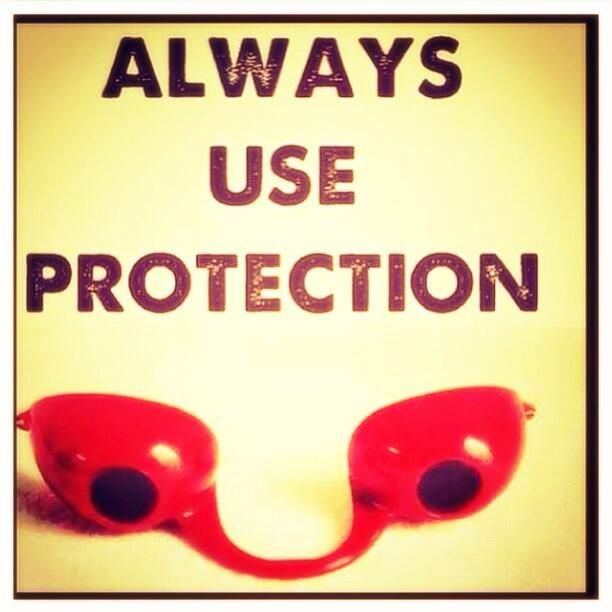 Always use protection! ;) via Southern Rayz on Twitter