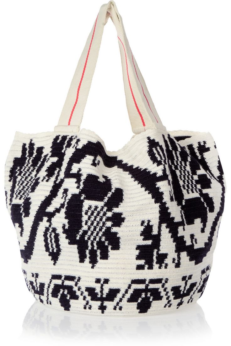 Sophie Anderson Jonas crocheted cotton tote €540