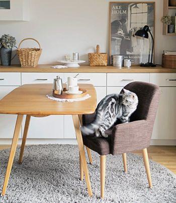 ◆EARCOL リビングテーブル(アーコール) ◆ テーブルのフォルムはシンプルでいて洗練されています。明るめの色のテーブルは部屋も明るくしてくれそうですね。木の温もりが感じられるテーブルです。毎日使うテーブルはやっぱりこだわりたいですね。