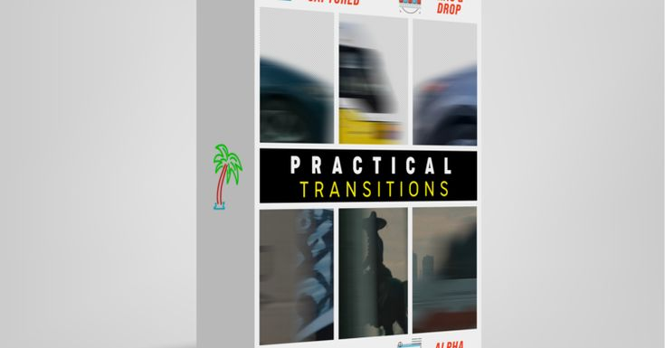80 real premasked foreground objects with motion blur 4k